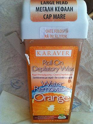 Karaver Roll On Depilatory Wax