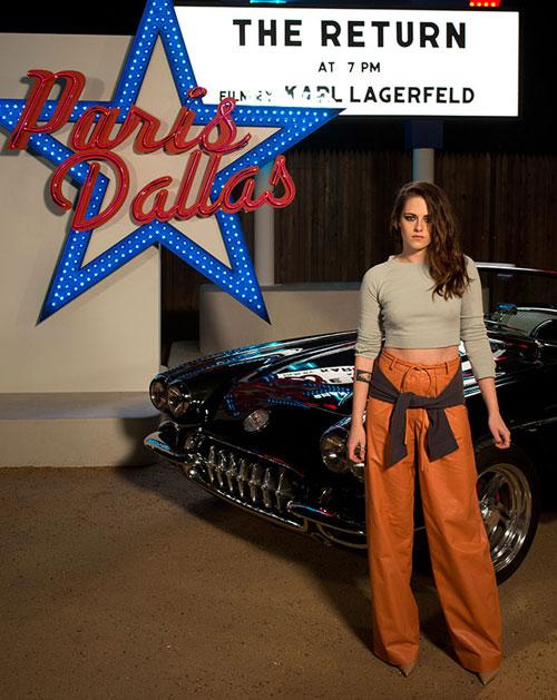 Kristen Stewart la Chanel Metiers D'Art Paris Dallas