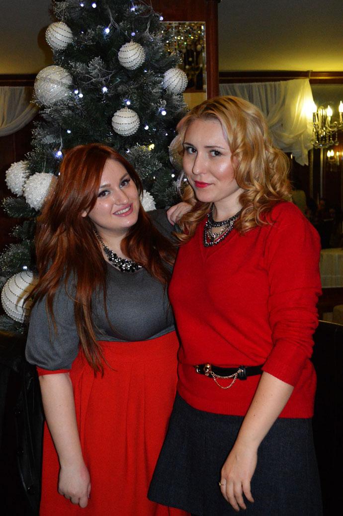 Ioana și Cristina, care au făcut posibil unul dintre cele mai frumoase evenimente la care am participat