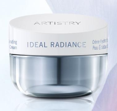 artistry ideal radiance hydrating cream Amway a lansat Artistry Ideal Radiance   soluție pentru ten fără pete