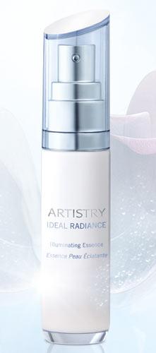 artistry ideal radiance illuminating essence Amway a lansat Artistry Ideal Radiance   soluție pentru ten fără pete
