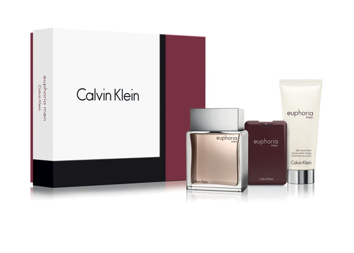 Calvin Klein Euphoria Man (EDT 100ml + EDT 20ml + AS Balm 100ml) 328 lei