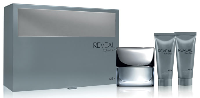 Calvin Klein REVEAL Man (EDT 100ml + AS Balm 100ml + Head & Body WASH 100ml) 328 lei