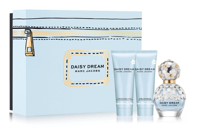 Marc Jacobs Daisy Dream (EDT 50ml + BL 75ml + SG 75ml) 295 lei