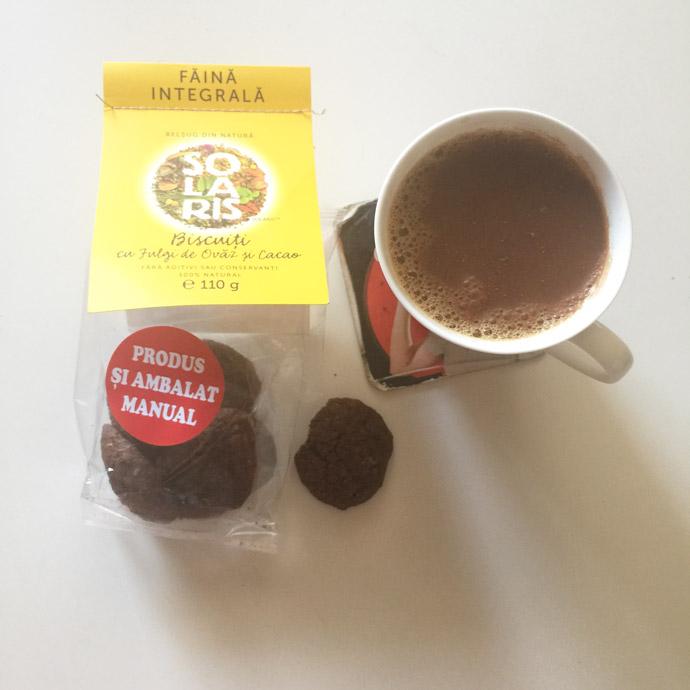 biscuiti solaris cacao