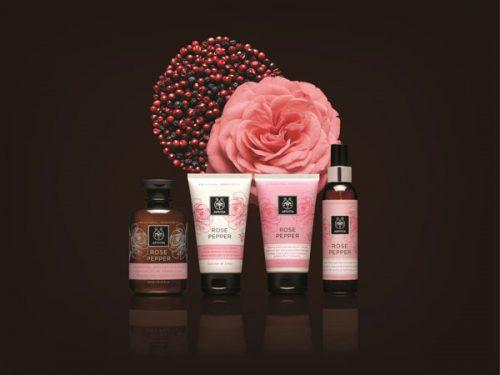 Roz de primăvară: Apivita Rose Pepper